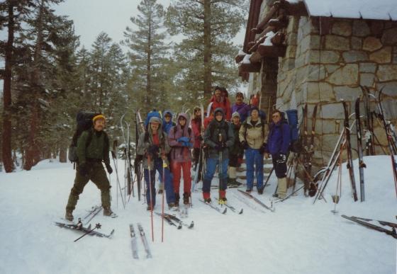 Ostrander Ski Hut mid '80's